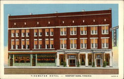"Tidewater Hotel - ""The Home of the Traveler"""