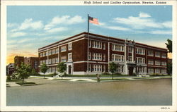 High School and Lindley Gymnasium