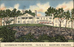 Governor Tyler Hotel - On US 11