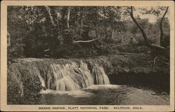 Scenic View of Grand Rapids at Platt National Park