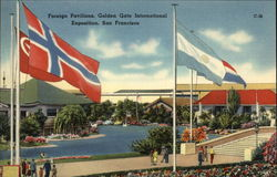 Foreign Pavilions, Golden Gate Intermational Exposition, San Francisco