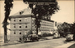 "Nurses ""Home Soldiers"" Home Hospital"