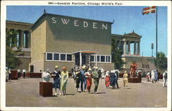 Swedish Exhibit Postcard