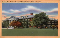 View of Main Building, Penn Hall School for Girls