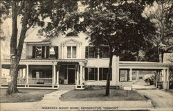 Street View of Wandrey Guest Home Postcard