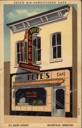 Pete's Air Conditioned Cafe - 314 Main Street