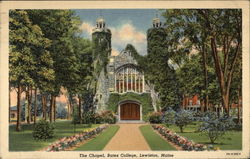 Bates College - The Chapel