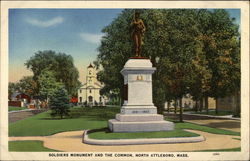 Soldiers Monument and The Common