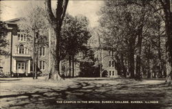 The Campus in the Spring at Eureka College
