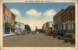 View of Main Street, Looking East