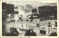 The Mall - showing Biltmore Hotel and Union Station