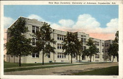 New Boys Dormitory, University of Arkansas