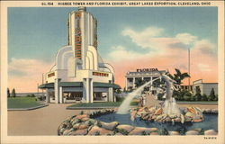 Higbee Tower and Florida Exhibit, Great Lakes Exposition