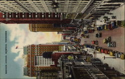 Bird's Eye View of Madison Avenue