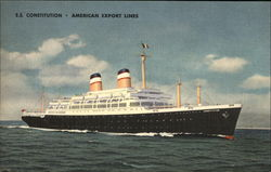 S.S. Constitution - American Export Lines