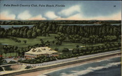Bird's Eye View of Palm Beach Country Club