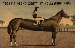 Today's Long Shot at Hollywood Park - Jockey & Horse
