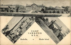 Multiple Views of Camp Yawgoog - BSA