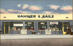 Street View of Hammer & Nails Hardware Store