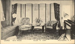 "Lounge - 1810 House - Allen ""A"" Camp"