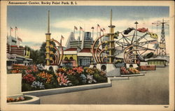 View of Amusement Center, Rocky Point Park