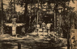 The Stockade, Camp Yawgoog, BSA