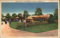 Indian Village, Goddard Park Potowomut