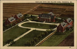 Aerial View of Maryland State Odd Fellows Home