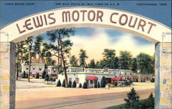Lewis Motor Court - One Mile South of Twin Tubes on US 41