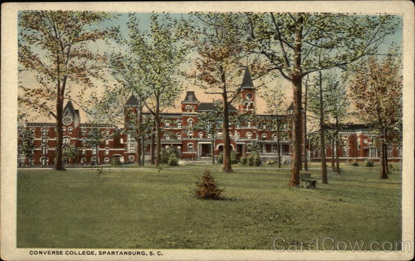 Converse College and Grounds Spartanburg South Carolina