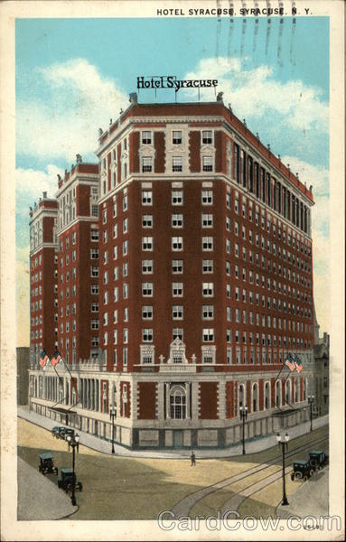 Street View of Hotel Syracuse New York