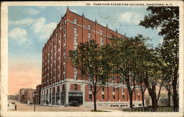 Furniture Exposition Building. Furniture Exposition Building Jamestown New  York