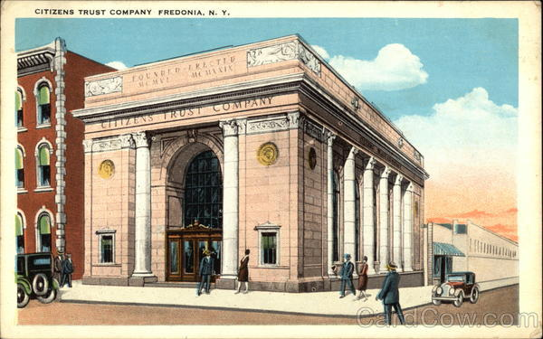Street View of Citizens Trust Company Fredonia New York