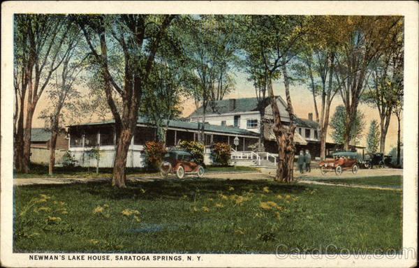 Newman's Lake House Saratoga Springs New York