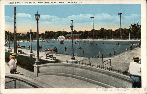 Audubon Park - New Swimming Pool New Orleans Louisiana