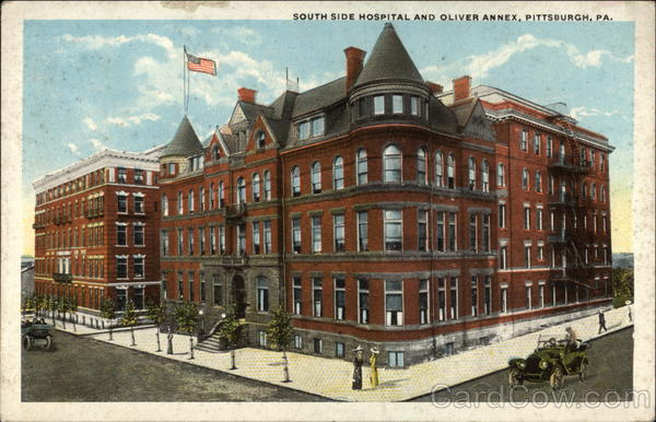 South Side Hospital and Oliver Annex Pittsburgh Pennsylvania