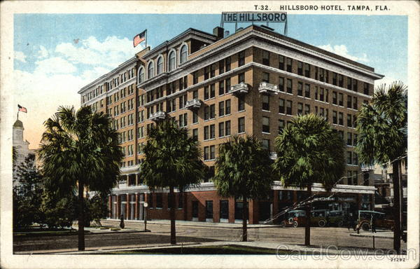 Street View of the Hillsboro Hotel Tampa Florida
