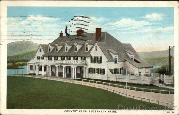 Country Club, Lucerne In Maine Holden