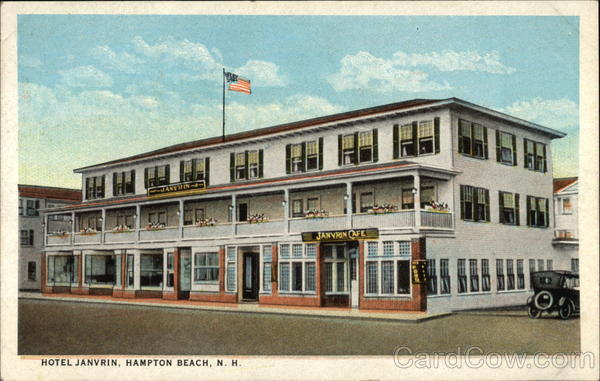 Street View of Hotel Janvrin Hampton Beach New Hampshire
