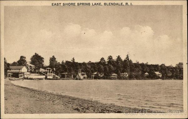 East Shore Spring Lake Glendale Rhode Island