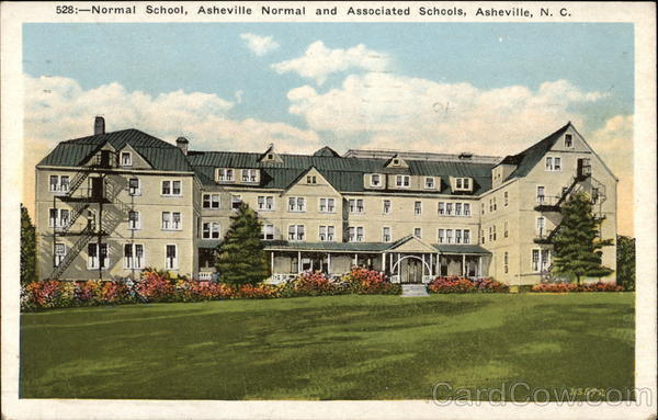 Normal School, Asheville Normal and Associated Schools North Carolina
