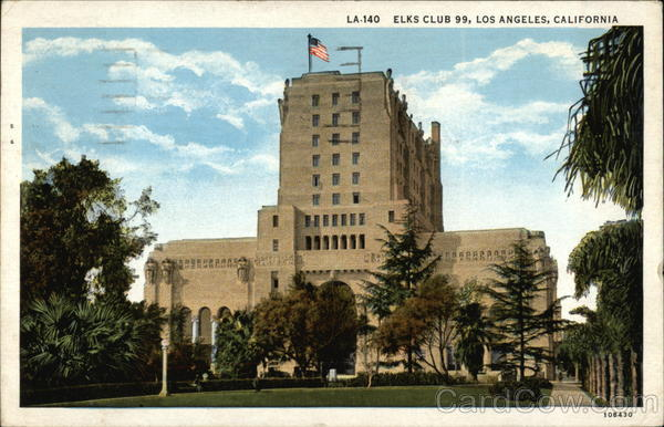 Elks Club 99 and Grounds Los Angeles California