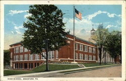 Street View of High School & Grounds