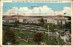 Dairy and Grange Building, New York State Fair Grounds