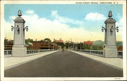 View of Third Street Bridge