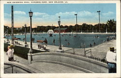 Audubon Park - New Swimming Pool