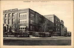 Street View of Woonsocket High School