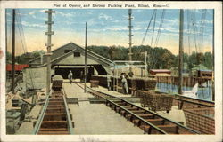 Pier of Oyster, and Shrimp Packing Plant