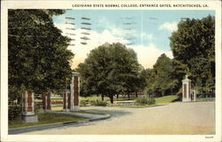 Louisiana State Normal College, Entrance Gatees