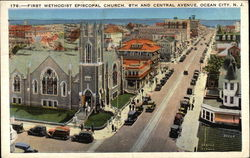 First Methodist Episcopal Church at 8th and Central Avenue